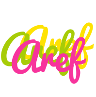 Aref sweets logo