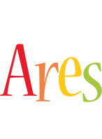 Ares birthday logo