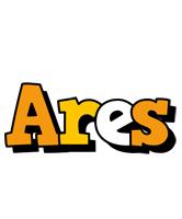 Ares cartoon logo