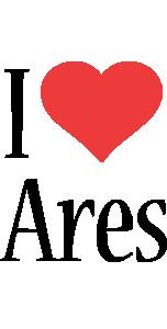 Ares i-love logo