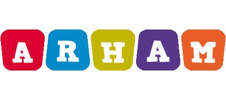 Arham kiddo logo