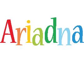 Ariadna birthday logo
