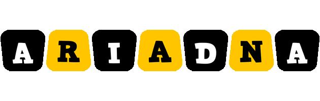 Ariadna boots logo