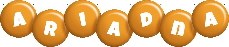 Ariadna candy-orange logo
