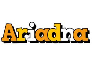 Ariadna cartoon logo