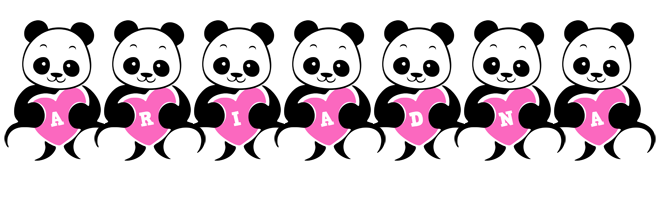 Ariadna love-panda logo