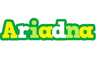 Ariadna soccer logo