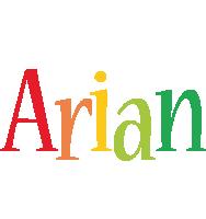 Arian birthday logo