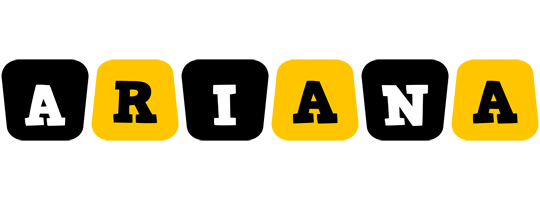 Ariana boots logo