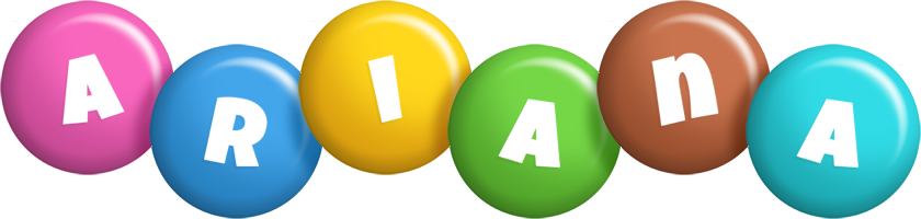 Ariana candy logo