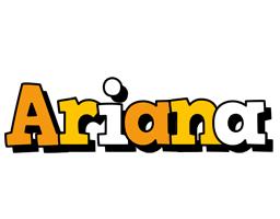 Ariana cartoon logo