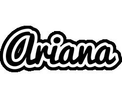 Ariana chess logo