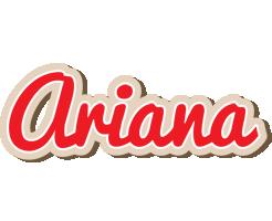 Ariana chocolate logo
