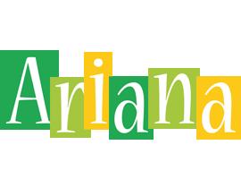 Ariana lemonade logo