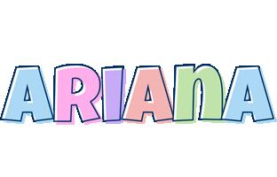 Ariana pastel logo