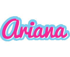 Ariana popstar logo