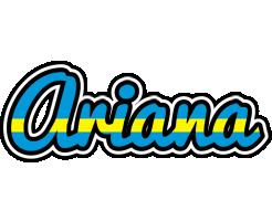 Ariana sweden logo
