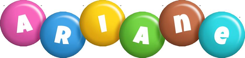 Ariane candy logo