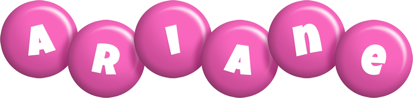 Ariane candy-pink logo