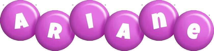 Ariane candy-purple logo