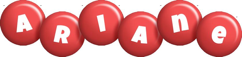 Ariane candy-red logo