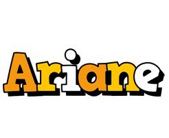 Ariane cartoon logo