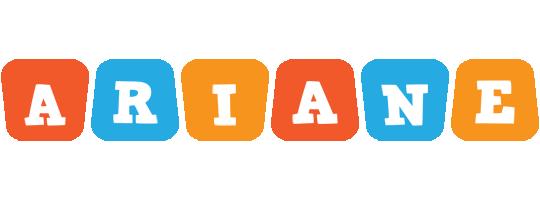 Ariane comics logo