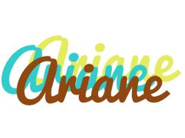 Ariane cupcake logo