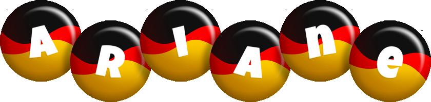 Ariane german logo