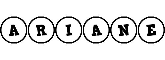 Ariane handy logo