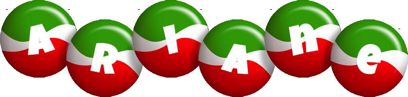 Ariane italy logo