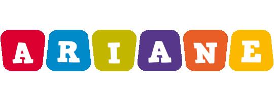 Ariane kiddo logo