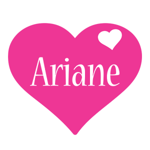 Ariane love-heart logo