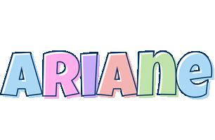 Ariane pastel logo