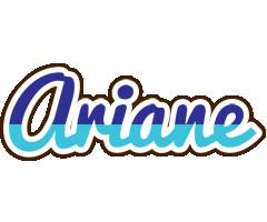 Ariane raining logo