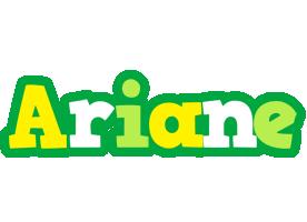 Ariane soccer logo