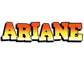 Ariane sunset logo