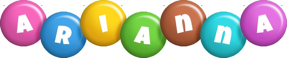 Arianna candy logo