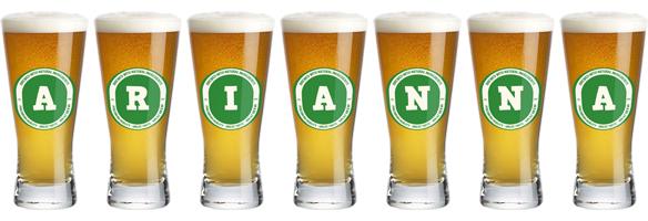 Arianna lager logo