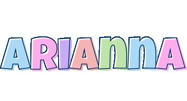 Arianna pastel logo