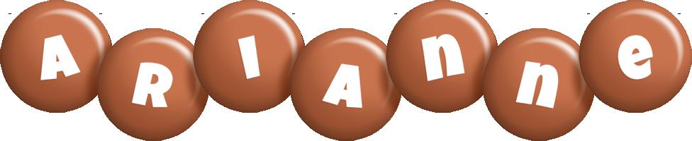 Arianne candy-brown logo