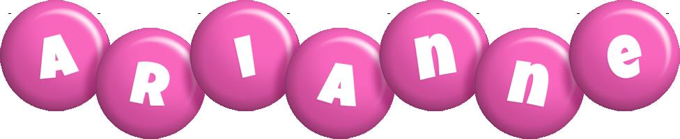 Arianne candy-pink logo
