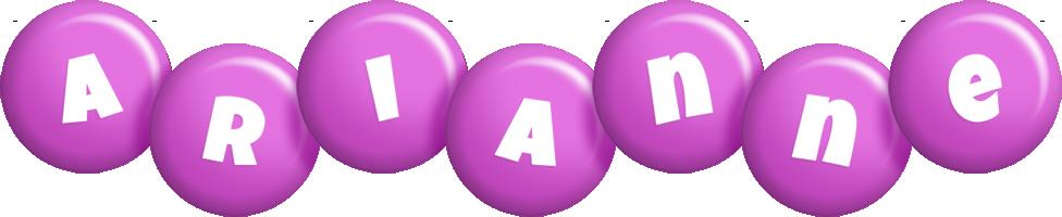 Arianne candy-purple logo