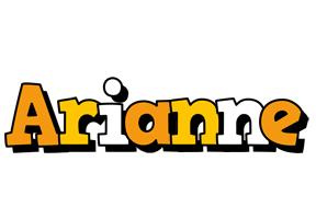 Arianne cartoon logo