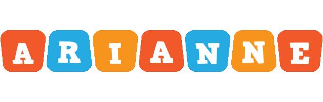 Arianne comics logo