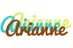 Arianne cupcake logo