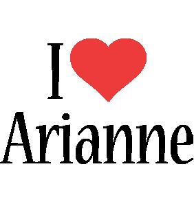Arianne i-love logo