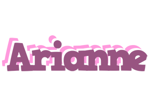 Arianne relaxing logo