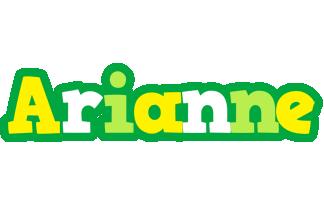 Arianne soccer logo
