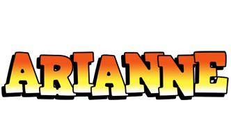 Arianne sunset logo